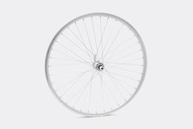 "26"" Front Wheel,  Silver - CS26"