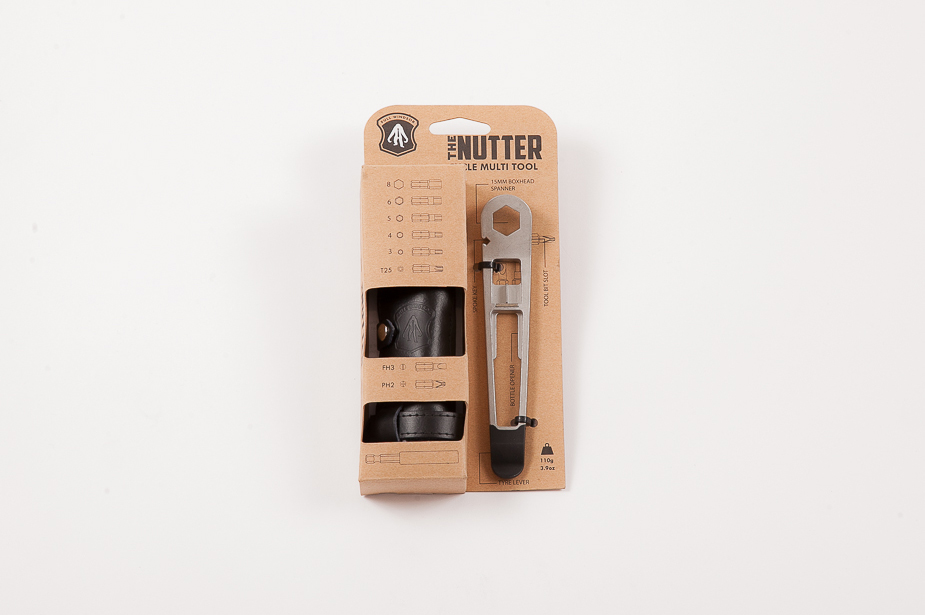 Full Windsor - The Nutter Cycle Multi Tool with pouch, Black