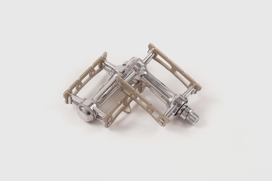 MKS - Pedals, Prime, Sylvan (Track), Silver / Champagne gold