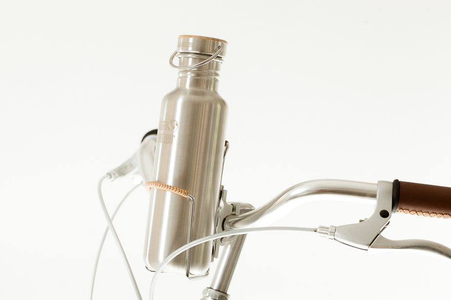 VO - Handlebar to Bottle Cage Mount, Silver