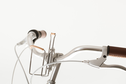 Zefal Zefal - Vintage bottle Cage Silver/Brown Leather