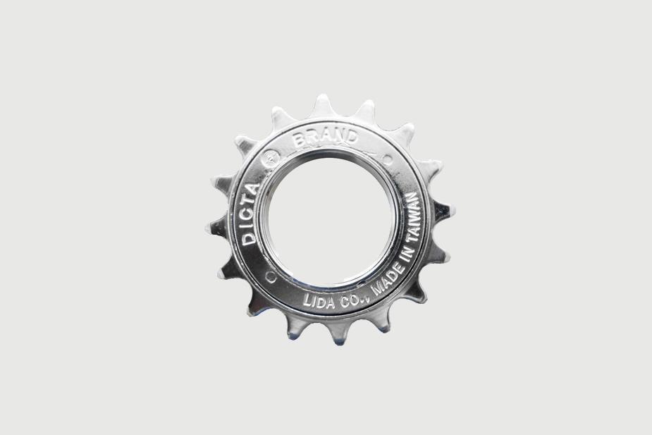Lida LIDA - Freewheel, LMA-8, 16T silver (Single Speed)