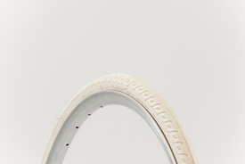 "26"" tyre in Ivory (off white) - fits CS26 & Bisou models"
