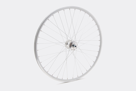 650c Front Wheel, Silver - Single Speed