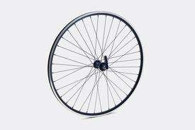 650c Front Wheel,  Black - Sport