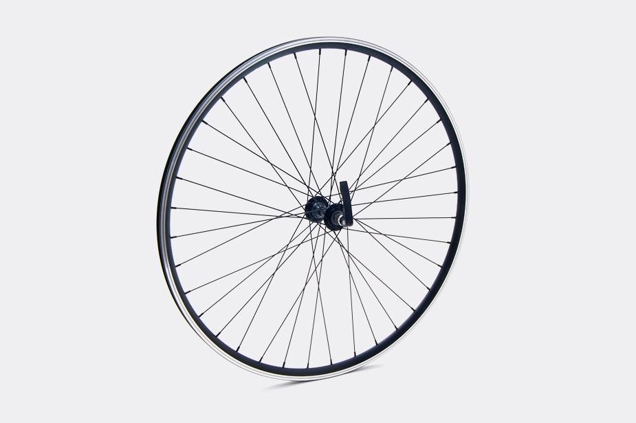 JALCO - Front Wheel, DRX-4000 650c 36H  Black / Black (Sport)