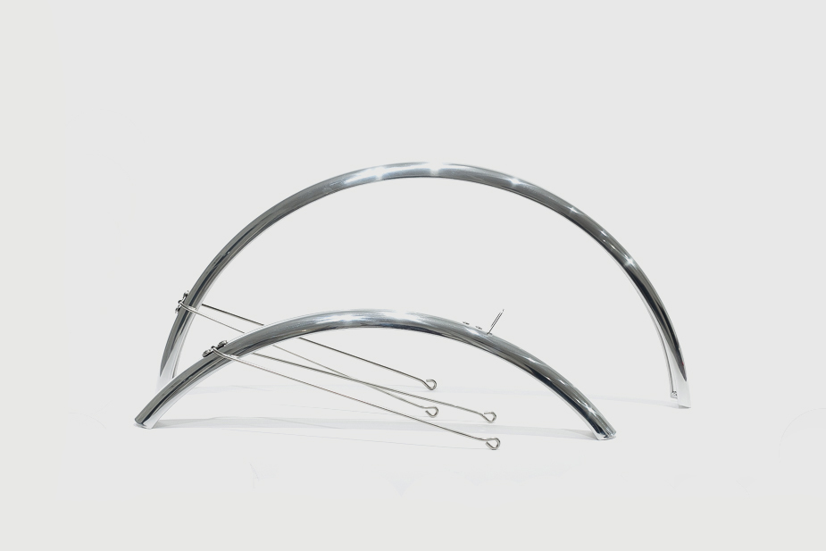 "Full Fender / Mudguards, 26""/650c, (Silver) for CS and Bisou"