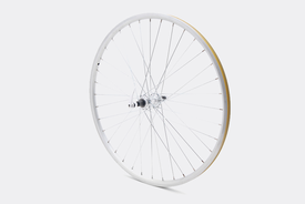 "26"" Rear Wheel,  Silver - Bisou"