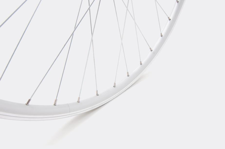 """JALCO - Rear Wheel, DXT116 26"""" 36H Silver / Silver (Bisou)"""