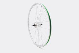 650c Rear Wheel, Silver - Single Speed