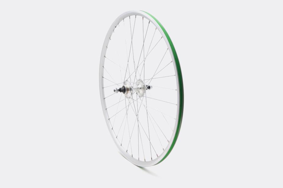 JALCO - Rear Wheel, DRX-4000 650c 36H Silver / Silver (SS/NI0)