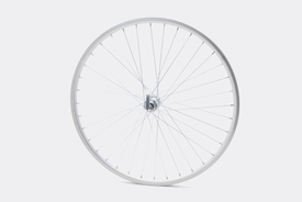 "26"" Front Wheel,  Silver - Bisou"