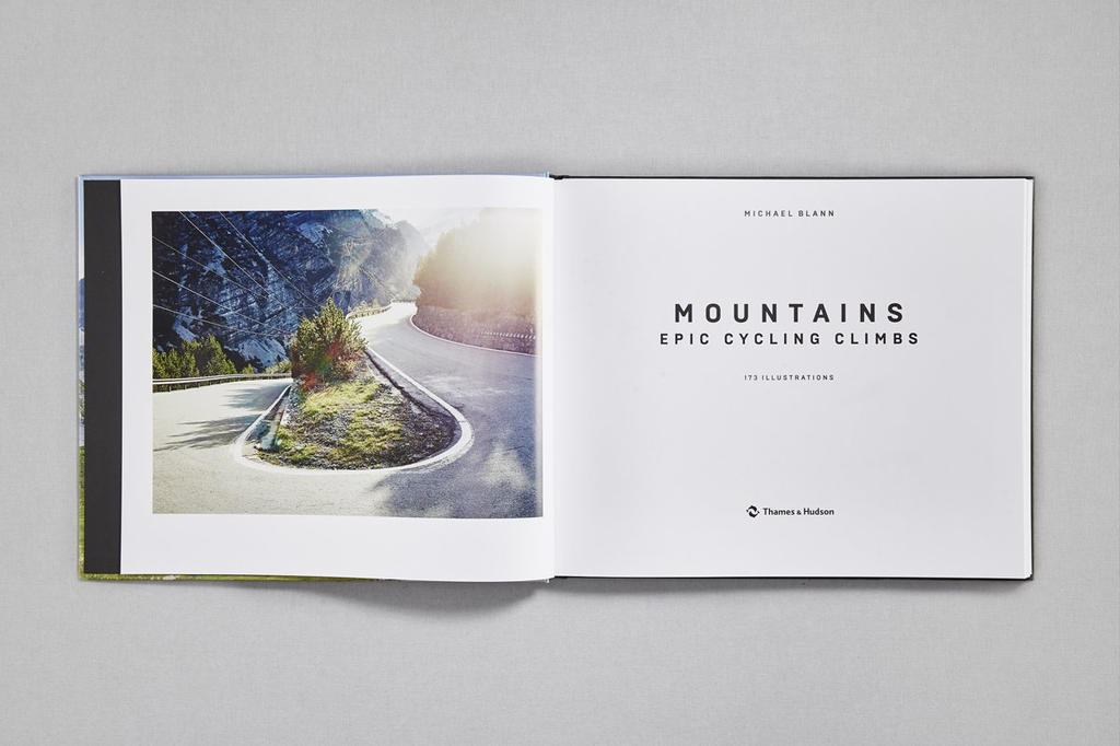 Thames & Hudson Mountains, Epic Cycling Climbs by Michael Blann