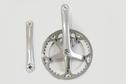Lasco LASCO - Crank set 42T 170mm Silver/Silver/Silver (SI / Bisou)