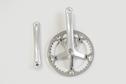 Lasco LASCO - Crank set 44T 170mm Silver/Silver/Silver (Mini Velo)