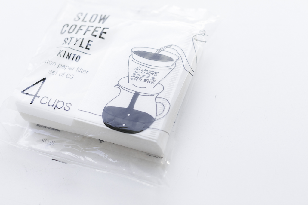Kinto KINTO - SCS Cotton Paper Filter 4CUPS