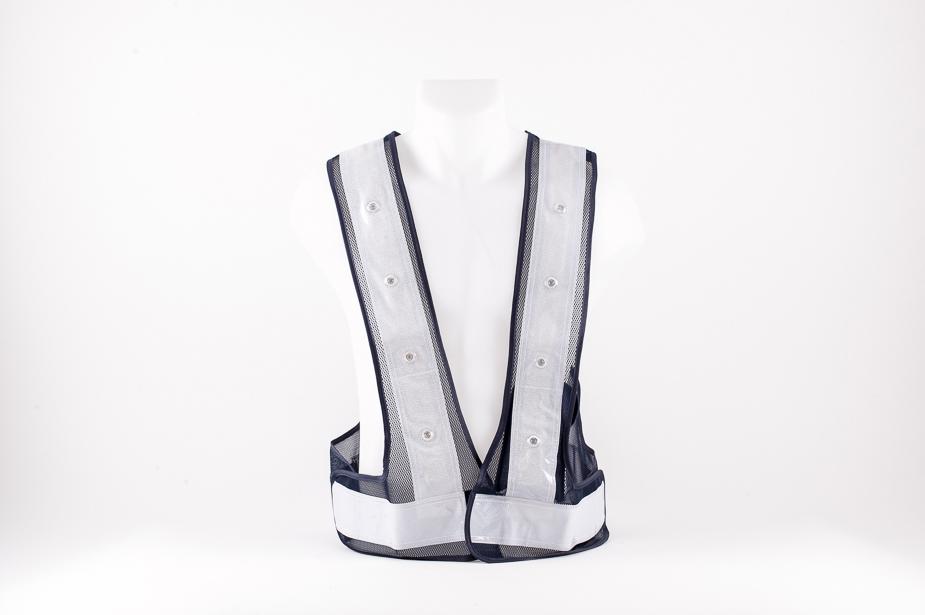 Toyo Safety Toyo Safety - LED safety vest, Navy