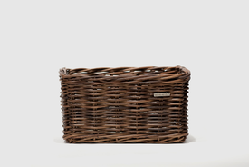Basil - Dorset rattan basket in natural brown