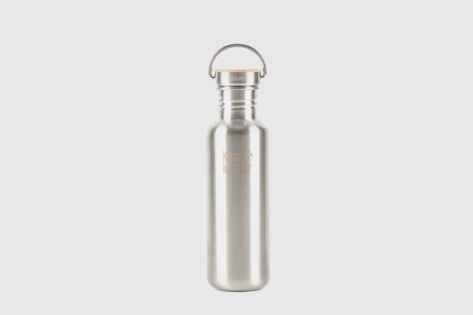 KLEAN KANTEEN Klean Kanteen - Bottle, Classic Reflect Klean Kanteen 800Ml Brushed Stainless