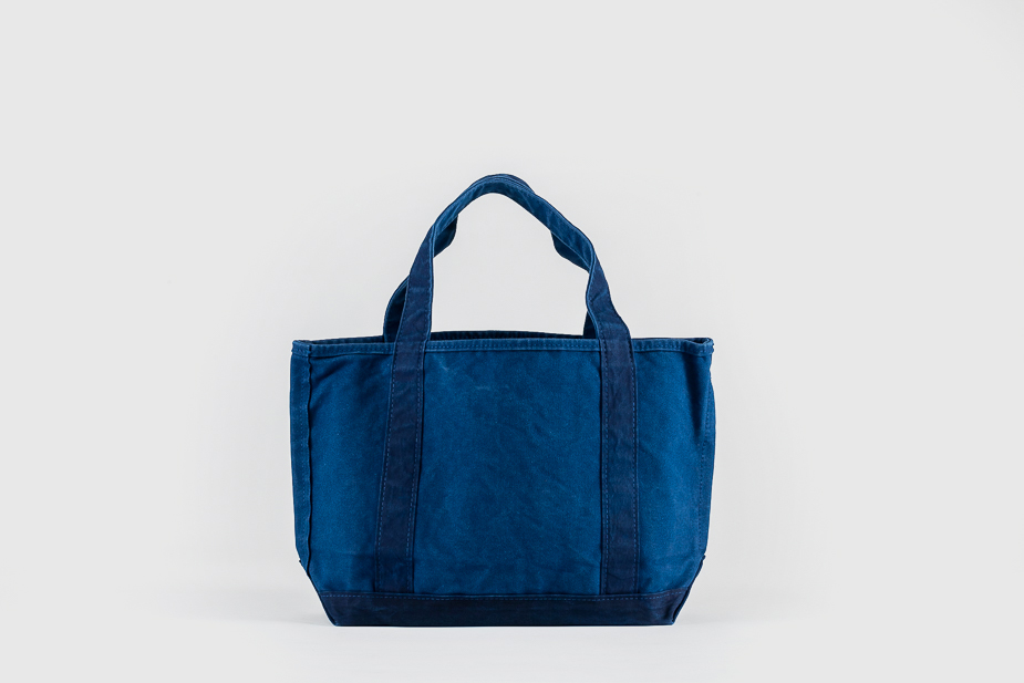 Tembea Tembea - Open Tote bag, Hand dyed in traditional Japanese indigo process.