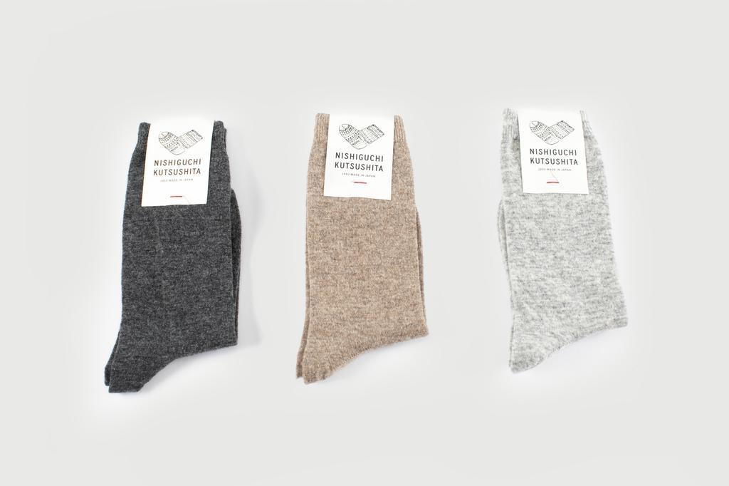 Nishiguchi Kutsushita - Cashmere Wool Socks, Praha