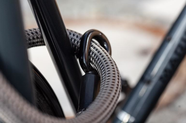 tex—lock - Eyelet, bike lock with U-lock