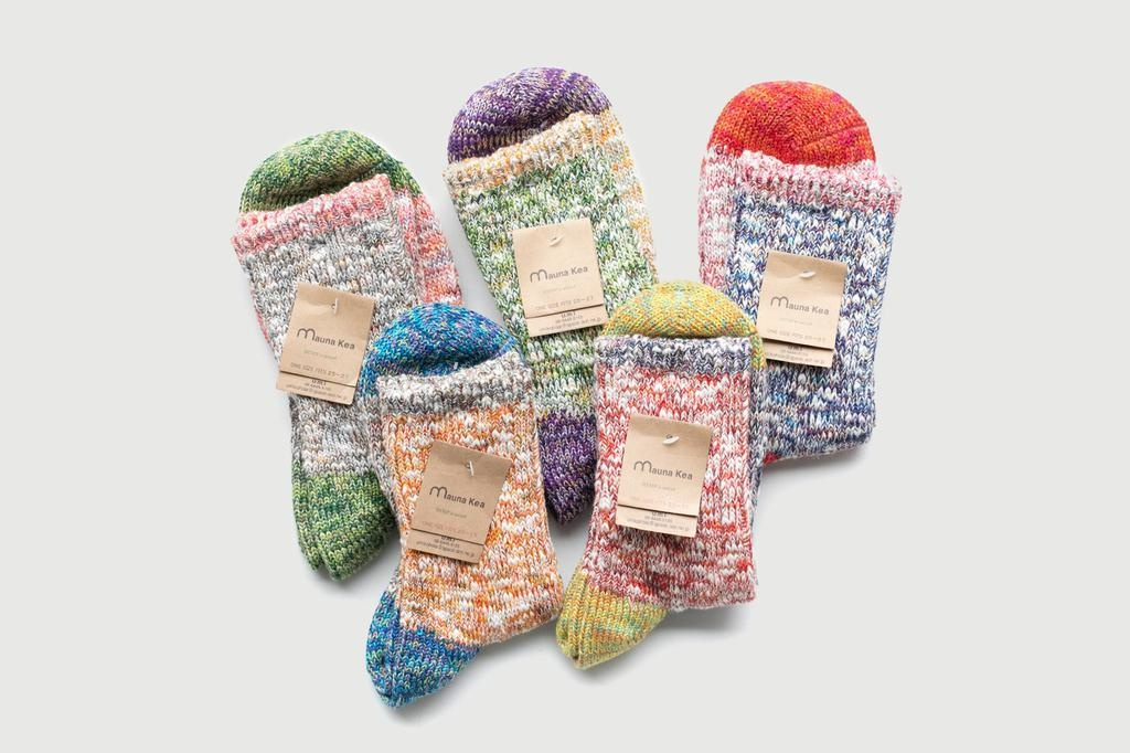 Mauna Kea - socks mixed colour