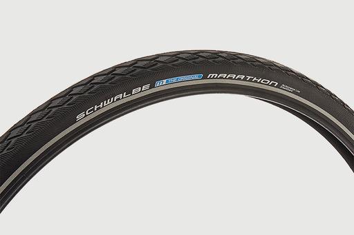 Schwalbe - Tyre, Marathon, 26 x 1.25, Black / Reflective