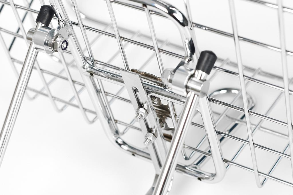 BLB - Front rack & Basket Combo Chrome