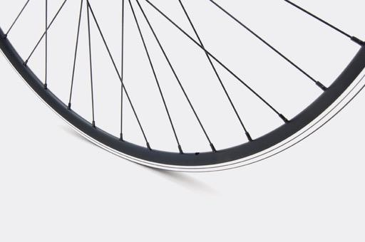 JALCO - Rear Wheel, R500, 650c 36H Black / Black (Sport)