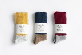 Nishiguchi Kutsushita - Mohair Wool Pile Socks, Oslo