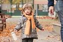 McNutts - Lambswool uniform HB scarf childrens