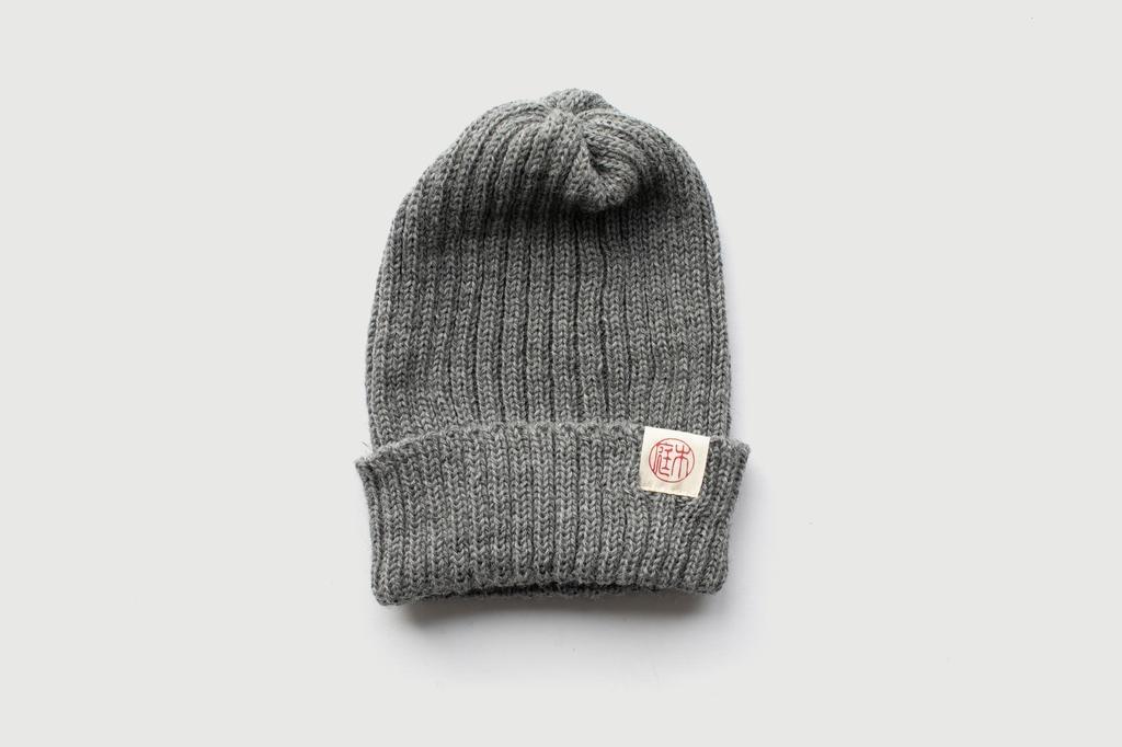Niwaki - Woolly Hat, Nezumi Grey