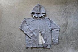 IITO - Hooded Double-zip Sweatshirt, MIDAIR
