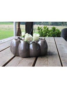 Villa Pottery  Pompom Grey