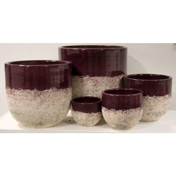 Villa Pottery  Cambridge Lilac Pot