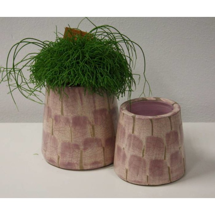 Villa Pottery  Chester oud Roze Pot