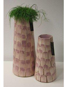 Villa Pottery  Chester oud Roze hoge pot