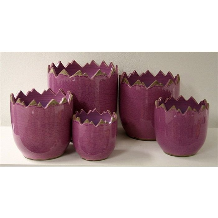 Villa Pottery  Peak Collection Lilac