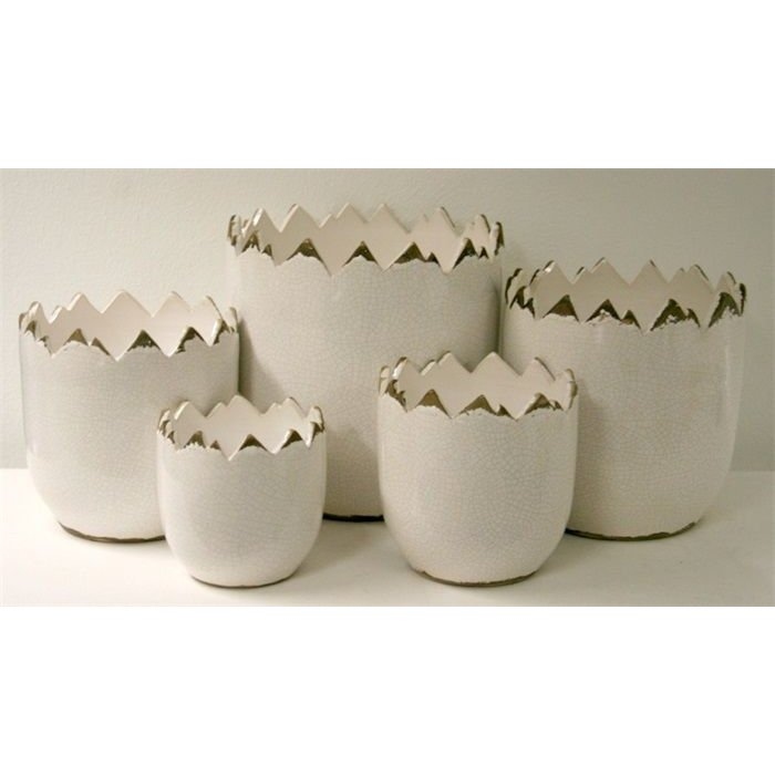 Villa Pottery  Peak Collection Wit