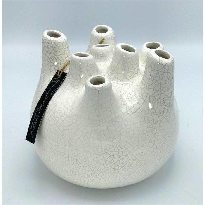 Villa Pottery  Witte Vaas Isabelle