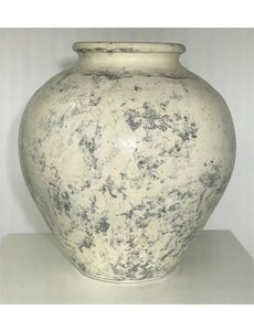 Villa Pottery  Witte Pot Dublin