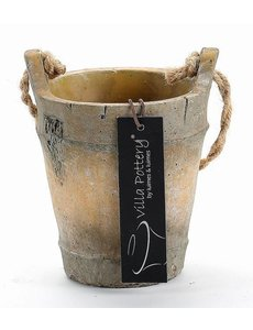 Villa Pottery  Pot Bruin Nepal