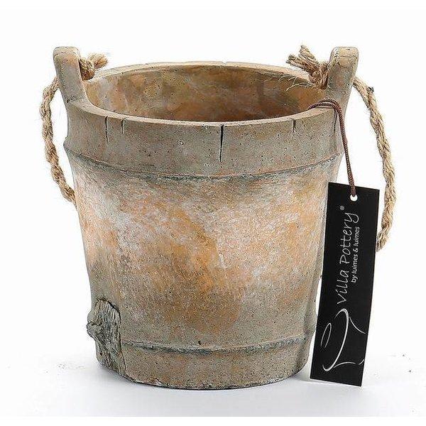 Villa Pottery  Pot Nepal Bruin