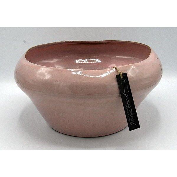 Villa Pottery  Schaal Roze Genk 32x16