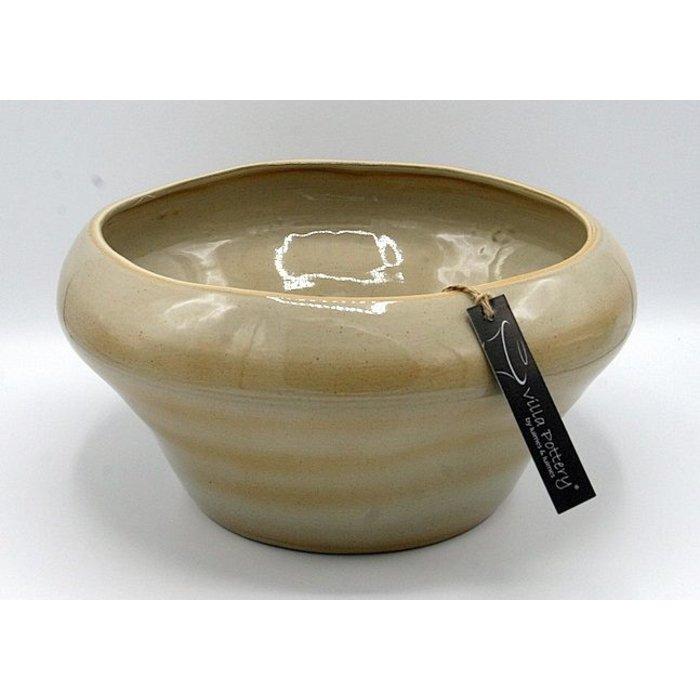 Villa Pottery  Schaal Crème Genk 32x16