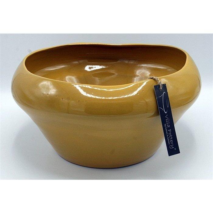 Villa Pottery  Schaal Geel Genk 32x16