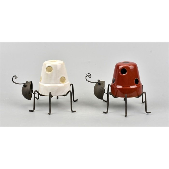 Villa Pottery  Hanging Beetle Skip 6_1 SET/2