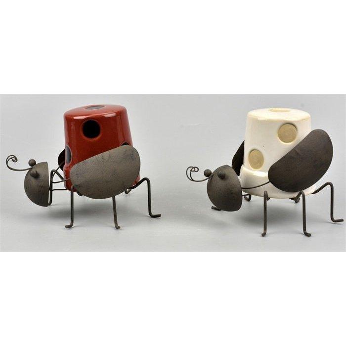 Villa Pottery  Hanging Beetle Skip 6_2 SET/2