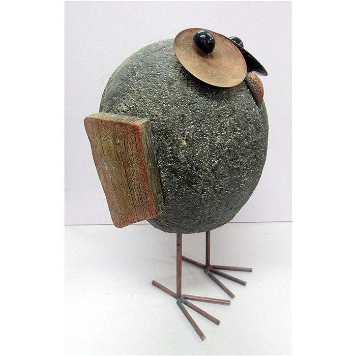 Decopots - Villa Pottery Magnesia Bird Jamaica 29x46